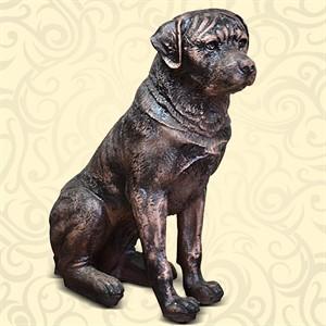 Интерьерная фигура пса