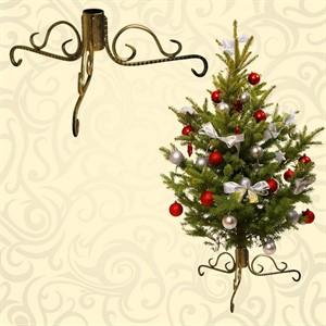 Кованые подставки для новогодних елок