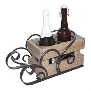 Стильная подставка для вина