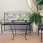 Прочная кованая мебель для дома и сада
