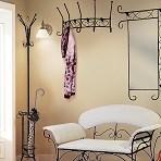 Кованая мебель для гардеробной