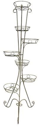 Вертикальная стойка для цветов - фото 4785
