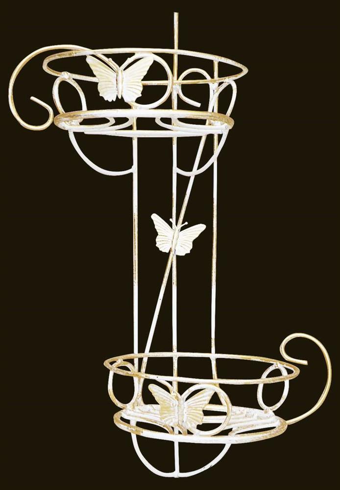 Подставка на стену для цветов - фото 4880