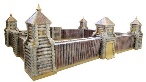 Песочница-Башня центральная с воротами деревянная F07217 - фото 5008