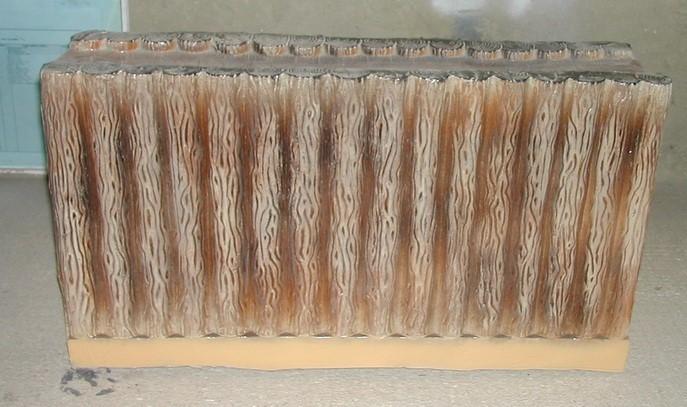 Песочница-Стена длинная деревянная F07221 - фото 5009