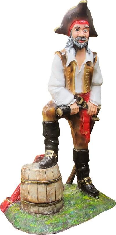 Пират с бочкой F07353 - фото 5011