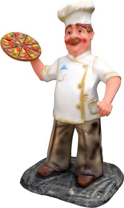 Повар с пиццей F07333 - фото 5012