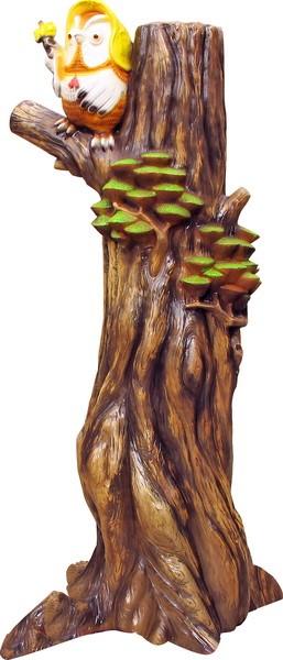 Сова на дереве F07169 - фото 5015