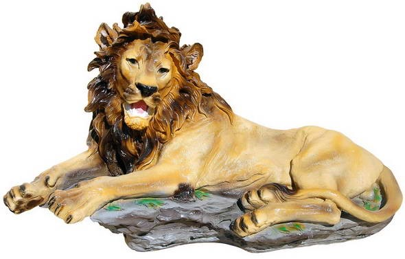Лев  лежит (сред.) F01181 - фото 5104