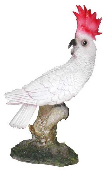 """Попугай """"Какаду"""" F01242 (голова назад) - фото 5111"""