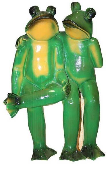 Две лягушки F 01059 - фото 5153