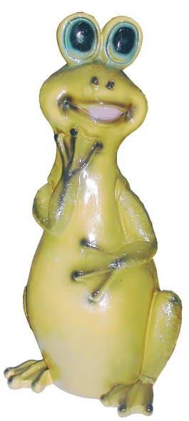 Лягушка сидит F 01211 - фото 5177
