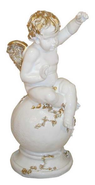 Ангелок с фонариком F 03035 WG - фото 5204