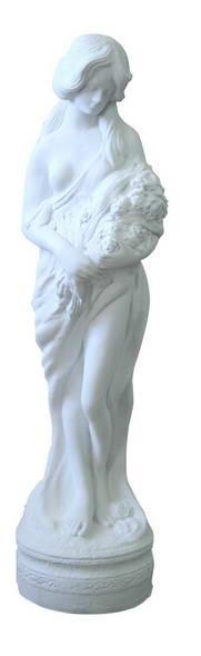 Девушка с цветами F 03003 WM - фото 5213