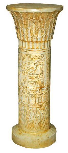 Колонна египетская бол F03089 - фото 5221