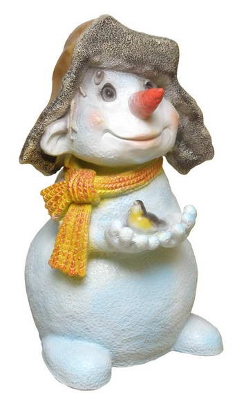 Снеговик с птичкой F 03181 - фото 5302