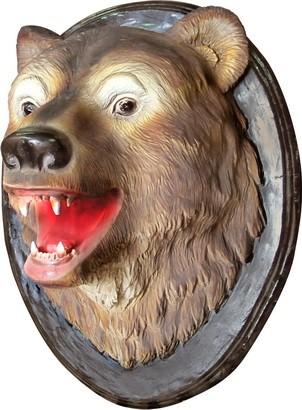 Панно на стену голова Медведя - фото 5307