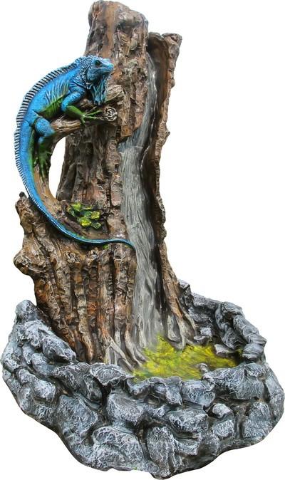 Фонтан Игуана на дереве F07307 - фото 5315