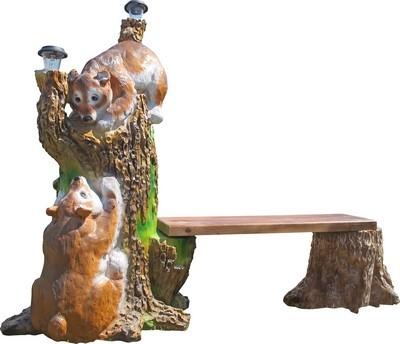 Фонтан Медвежата на дереве  F07316 - фото 5320