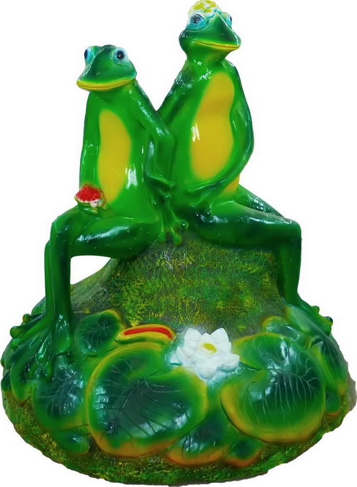 Крышка люка Лягушки влюбленные U07411 - фото 5347