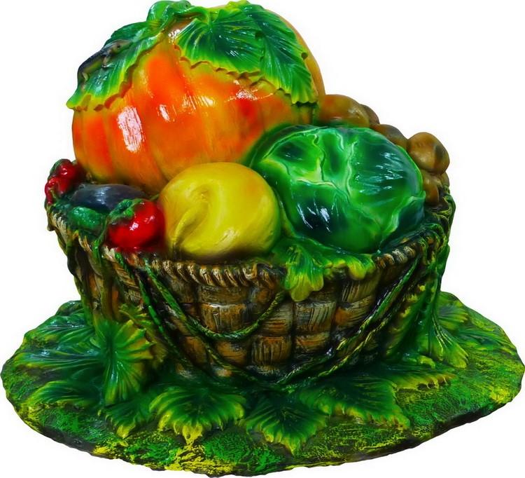 Крышка люка Корзина с овощами - фото 5348