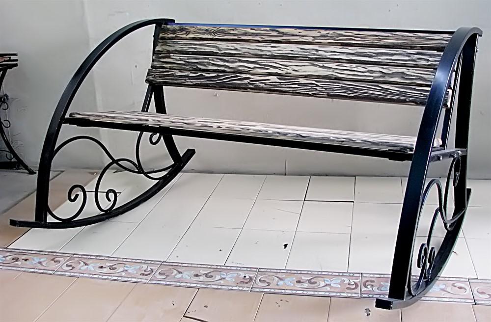 Кресло 881-32 качалка с деревом - фото 5421