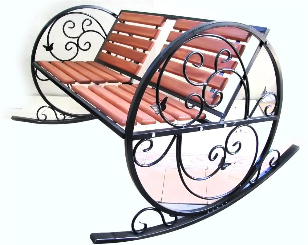 Кресло 881-40 качалка  с деревом - фото 5425