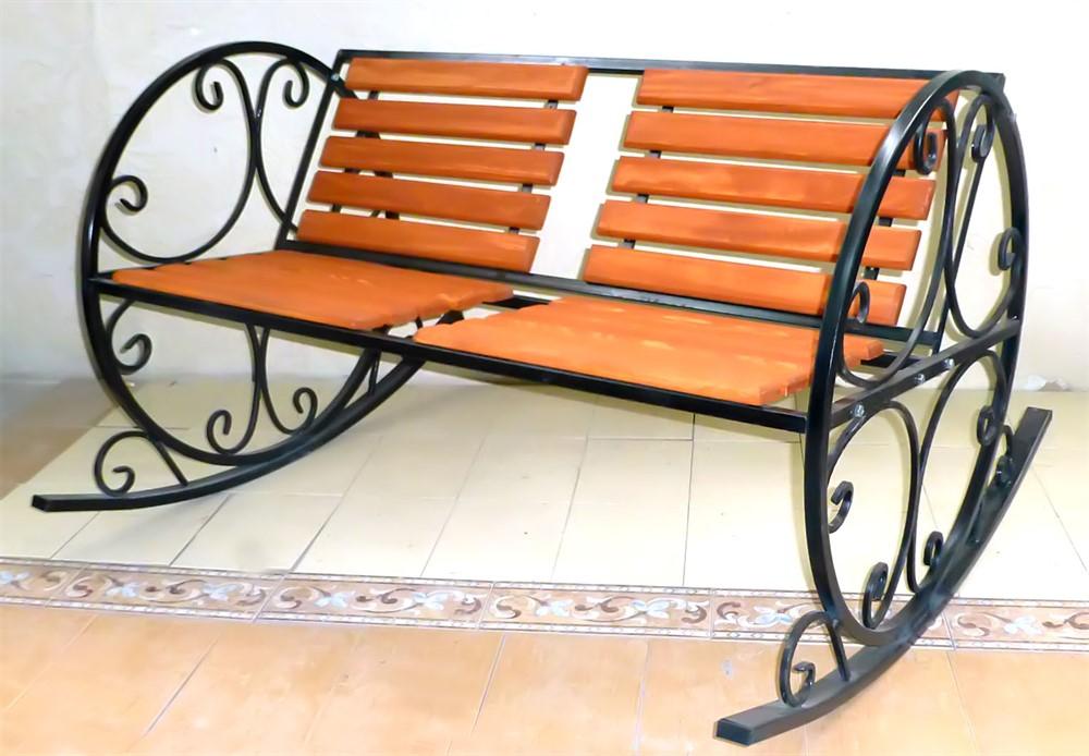 Кресло 881-42 качалка  с деревом - фото 5426