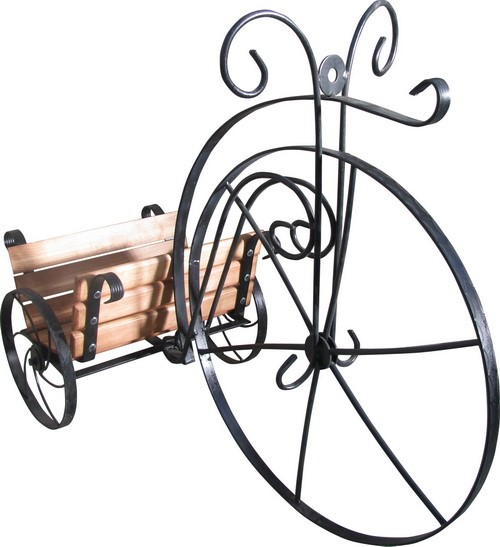 Подставка для цветов Велосипед - фото 5467