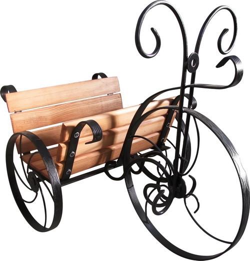 Подставка под цветы Велосипед - фото 5470