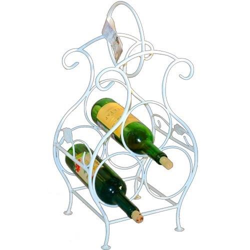 Металлический держатель для бутылок вина