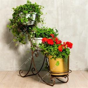 Стойка для цветов на 3 цветка