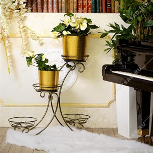 Кованая подставка для цветов 25-005