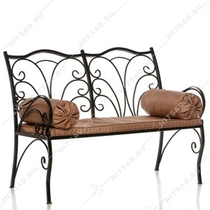 Кованый дачный диван