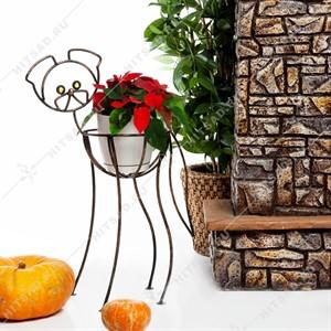 Подставка для цветов Собачка