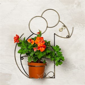 Настенная цветочница Мышка