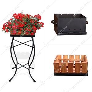 Мангал-цветочница