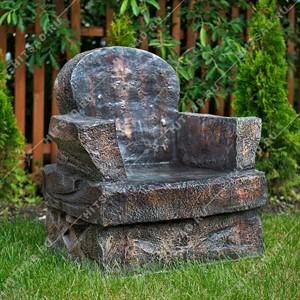 Кресло камень