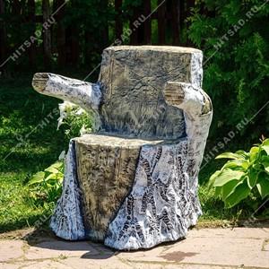 Кресло пень березовый