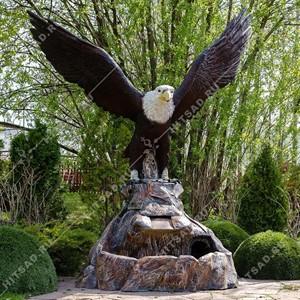 Фонтан садовый Орел