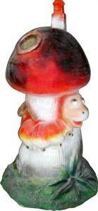 Гриб с гусеницей  F07120