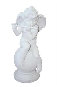 Ангелок с флейтой F 03005 WM