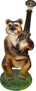 Светильник Медведь с фонарем F07124