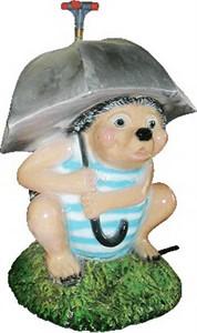 Поливалка Еж под зонтом (ламинат) F07168