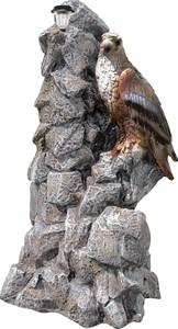 Фонтан Орел на камнях F07296