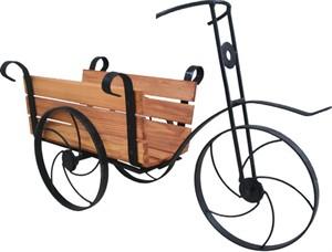 Велосипед подставка под цветы