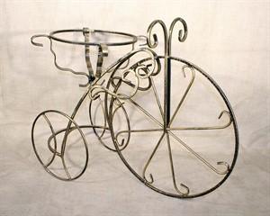 Подставка кованая велосипед