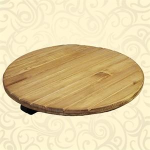 Напольная подставка из дерева
