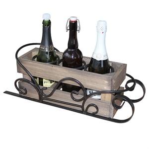 Кованая подставка для бутылок