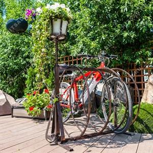Для велосипедов стоянка